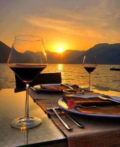 Abendessen...
