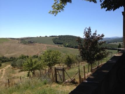 View over Tignano