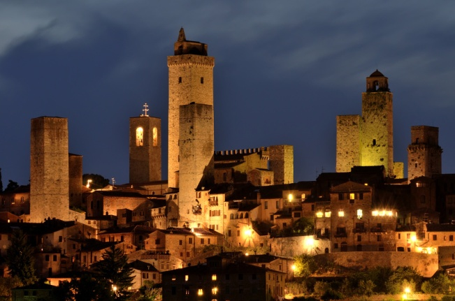 S. Gimignano by night_Lia et Angelo's