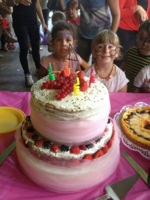 Birthday cake Lia et Angelos2